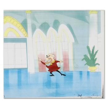 """Original Production Cel from the Animated Classic, """"The Pink Panther"""", with Letter of Authenticity."""