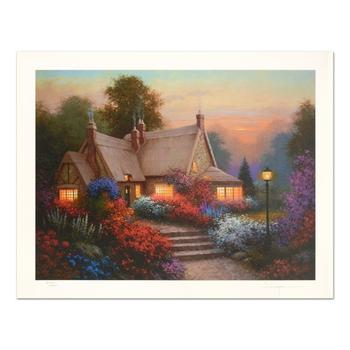 """Sergon - """"Evening Glow"""" Limited Edition, Numbered and Hand Signed."""