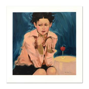 """Linda Kyser Smith, """"Do Tell"""" Limited Edition Serigraph, Numbered and Hand Signed with Certificate of Authenticity. $700"""