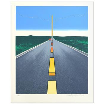 """Charles Magistro! """"Great American Landscape"""" Ltd Ed Lithograph, Numbered and Hand Signed with Certificate! $995"""