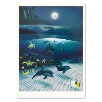 "Wyland, ""Mystical Waters"" Limited Edition Lithograph, Numbered and Hand Signed with Certificate of Authenticity."