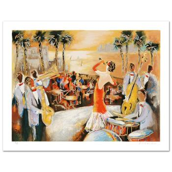 """Michael Rozenvain! """"Miami Nights"""" Limited Edition Serigraph from an AP Edition, Hand Signed with Certificate! List $300"""