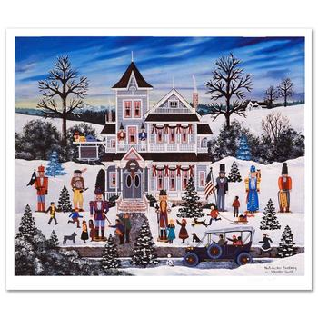 """Jane Wooster Scott! """"Nutcracker Fantasy"""" Ltd Ed Lithograph, Numbered and Hand Signed with Certificate!"""