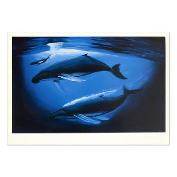 """Wyland! """"A Sea of Life"""" Limited Edition Lithograph, Numbered and Hand Signed with Certificate of Authenticity! List $910"""