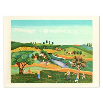 """Colagone, """"Ma Compagne"""" Limited Edition Lithograph, Numbered and Hand Signed."""