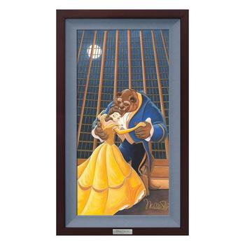 """""""A Beautiful Dance"""" Framed Limited Edition Canvas by Michelle St.Laurent from the Disney Silver Series; with COA"""