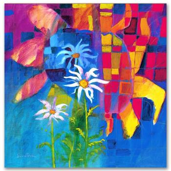 """Simon Bull, """"Together We Chase The Sun"""" Gallery Wrapped Ltd Ed Giclee on Canvas, Numbered and Signed with Certificate."""