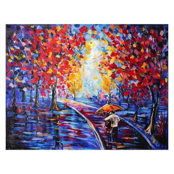 """Svyatoslav Shyrochuk, """"Couples in the Park"""" Ltd Ed on Gallery Wrapped Canvas, Numbered and Hand Signed with Cert."""