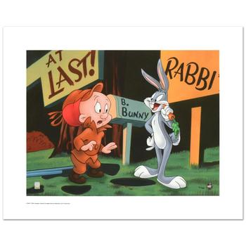 """Warner Bros., """"Rabbit Season"""" Ltd Ed Giclee, Hand Numbered with Hologram Seal of Authenticity & Cert."""