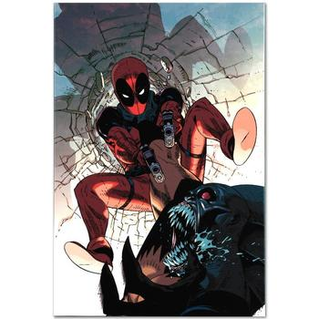 """Marvel Comics, """"Deadpool #6"""" LTD ED Giclee on Canvas by Jason Pearson, Numbered with Certificate."""