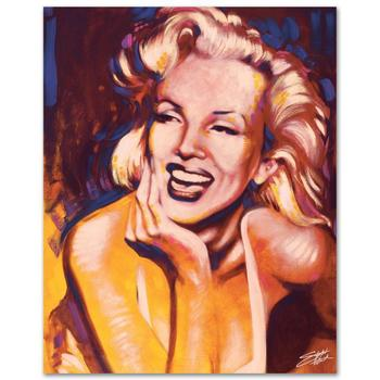 """Stephen Fishwick, """"Fun - Marilyn"""" Ltd Ed Giclee on Canvas, Numbered and Signed with Certificate of Authenticity."""