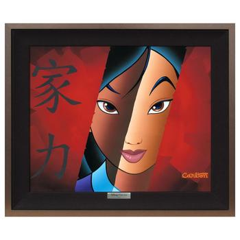 """Who I am Inside"" Framed Limited Edition Canvas by Trevor Carlton from the Disney Fine Art Silver Series"