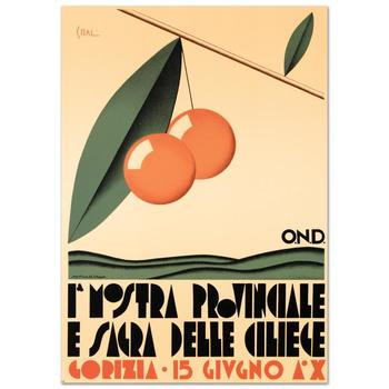 """""""Le Nostre Provinciale"""" Hand Pulled Lithograph by the RE Society with Certificate."""