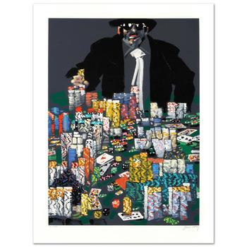 """Waldemar Swierzy(1931-2013), """"The Strip"""" Ltd Ed Hand Pulled Original Lithograph Numbered and Hand Signed, w/Cert."""