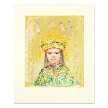 """Edna Hibel (1917-2014), """"Oriental Daydream"""" Ltd Ed Lithograph, Numbered and Hand Signed with Certificate of Authenticity."""
