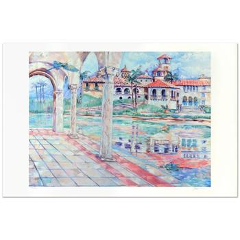 """Adam -""""Dia Sereno"""" Limited Edition Lithograph, Numbered and Hand Signed."""