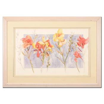 Rita Joyce, Original Watercolor on Paper, Hand Signed with Letter of Authenticity.