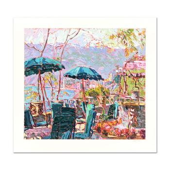 """Marco Sassone, """"Porta Roca"""" Limited Edition Serigraph, Numbered and Hand Signed with Letter of Authenticity."""