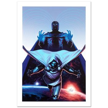 """Marvel, """"X-Men #16"""" Ltd Ed Giclee on Canvas by Joe Quesada, Numbered & Hand Signed by Stan Lee w/Cert."""