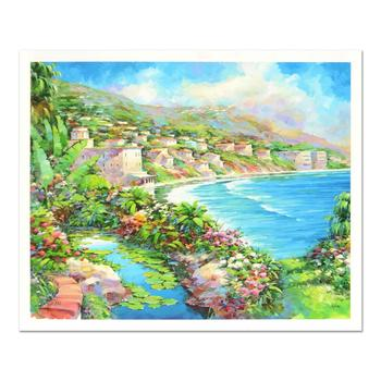 """Marko Mavrovich, """"Laguna Fantasy"""" Limited Edition Serigraph, Numbered 12/195 and Hand Signed with LOA."""