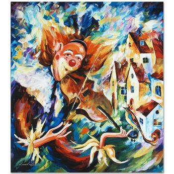 """Leonid Afremov """"For Fun"""" Limited Edition Giclee on Gallery Wrapped Canvas, Numbered and Signed; COA."""