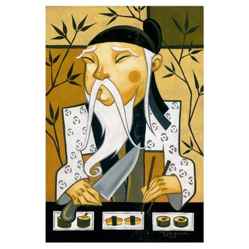 """Tim Rogerson, """"King of Raw in Roll"""" Ltd Ed Giclee on Canvas, No. & Hand Signed w/Cert."""