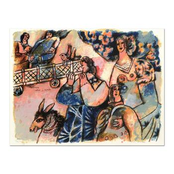 """Theo Tobiasse (1927-2012), """"Les Premiers Matins Du Monde"""" Ltd Ed Lithograph, Numbered and Hand Signed with LOA."""
