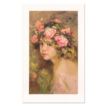 """Royo, """"Inocencia"""" Limited Edition Serigraph, Numbered and Hand Signed with Certificate."""