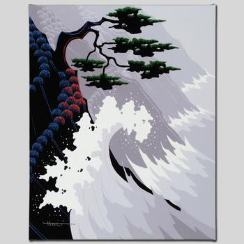 """Larissa Holt, """"Tsunami"""" Ltd Ed Giclee on Gallery Wrapped Canvas, Numbered and Signed with Certificate of Authenticity."""
