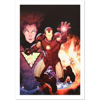 Marvel, Ltd Ed Giclee on Canvas by Ariel Olivetti, Numbered & Hand Signed by Stan Lee w/Cert.