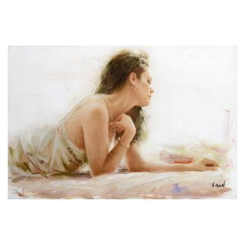 """Apres Midnight, """"Seduction"""" Limited Edition on Canvas, Numbered and Hand Signed with Certificate."""