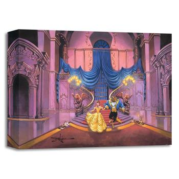 """Tale as Old as Time"" Limited edition gallery wrapped canvas by Rodel Gonzalez from the Disney Treasures collection."