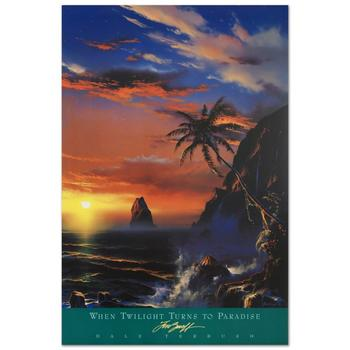 "Dale Terbush, ""When Twilight Turns to Paradise"" Poster (1994)."
