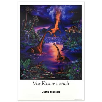 "Eric Van Raemdonck, ""Living Legend"" Poster (1993) From ""A New Day Series, Vol 2""."