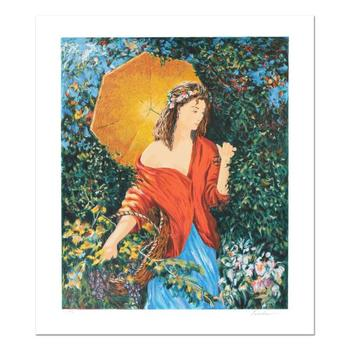 "Igor Semeko, ""After the Rain"" Hand Signed Limited Edition Serigraph with Letter of Authenticity."