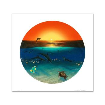 "WYLAND, ""Warmth of the Sea"" LIMITED EDITION Giclee on Canvas, Numbered and Hand Signed with Certificate."