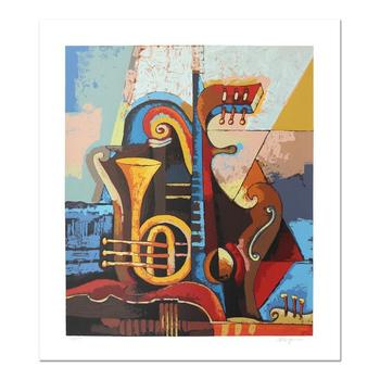 "Igor Kovalev, ""Symphony I"" Hand Signed Limited Edition Serigraph with Letter of Authenticity."