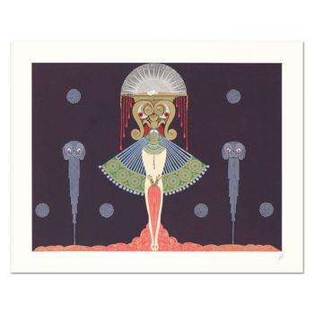 """Erte (1892-1990), """"Salome"""" Limited Edition Serigraph, Numbered and Hand Signed with Certificate."""