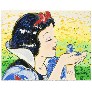 """David Willardson, """"A Fine Feathered Friend"""" Limited Edition Serigraph, Numbered and Hand Signed with Certificate."""