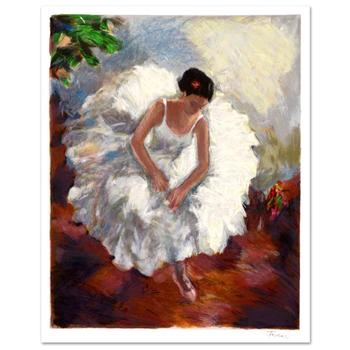 """Hedva Ferenci, """"Prima Ballerina"""" Limited Edition Serigraph, Numbered and Hand Signed with Certificate."""