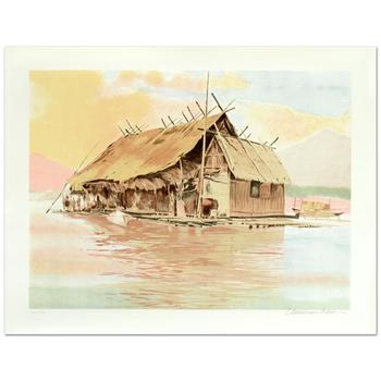 """William Nelson, """"South Pacific"""" Limited Edition Serigraph, Numbered and Hand Signed by the Artist."""