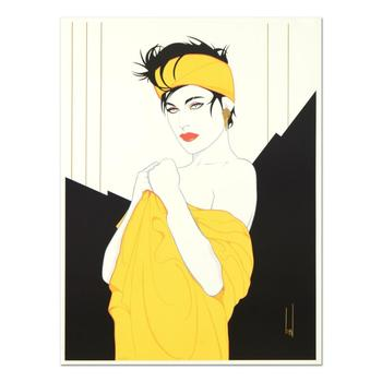 """Steve Leal, """"Yellow Bandanna"""" Ltd Ed Serigraph, Numbered 503/999 and Hand Signed with Letter of Authenticity. (Disclaimer)"""