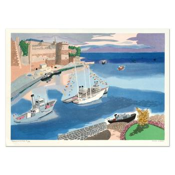 """Georges Lambert (1919-1998), """"Caen"""" Limited Edition Lithograph, Numbered and Hand Signed."""