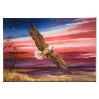 """""""Red White and Blue"""" Ltd Ed Giclee on Gallery Wrapped Canvas by Martin Katon, Numbered & Hand Signed with Certificate."""