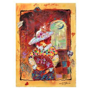 """Sergey Kovrigo, """"Classic Story"""" Hand Signed Original Watercolor on Paper; COA"""
