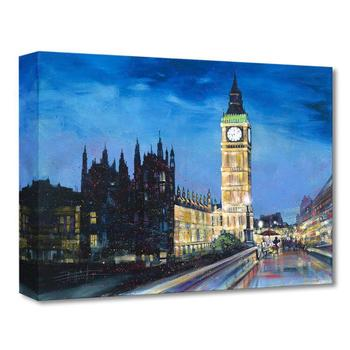 """""""Painting thre Town"""" Limited edition gallery wrapped canvas by Stephen Fishwick from the Disney Treasures collection."""