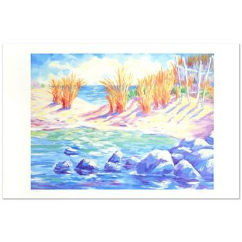 """Adam -""""La Playa Arenosa"""" Limited Edition Lithograph, Numbered and Hand Signed."""