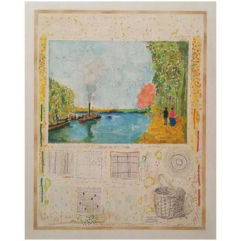 Michael Eiseman, Hand Signed Original Oil on Canvas; COA