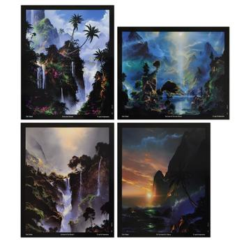 Dale Terbush - Set of Four Mini Prints.
