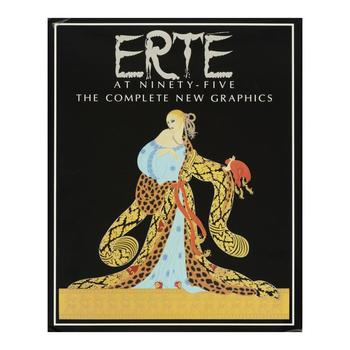 """Erte at Ninety-Five, The Complete New Graphics"" This Fine Art Book Features Art from Erte (1892-1990), Hand Signed."